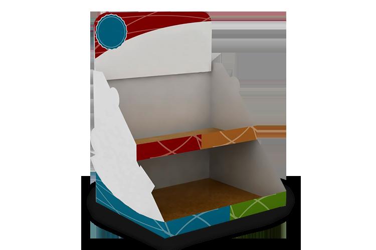 exhibidores y displays de cart n bebox